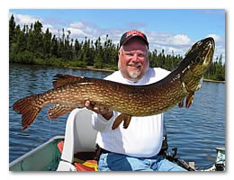 Click here for details on our Manitoba fishing trip.